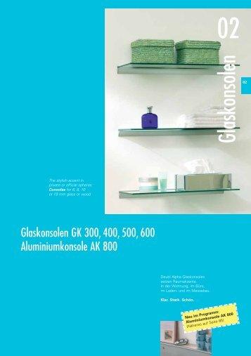 Glaskonsolen - Suza Glass