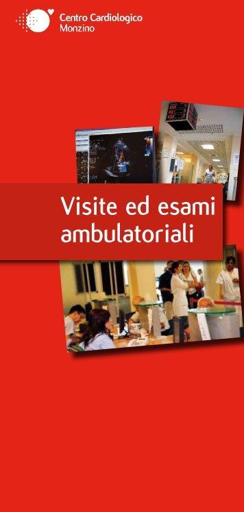 Visite ed esami ambulatoriali - Centro Cardiologico Monzino