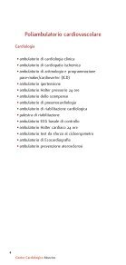 Visite ed esami ambulatoriali - Centro Cardiologico Monzino - Page 4