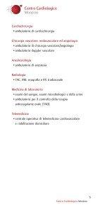 Visite ed esami ambulatoriali - Centro Cardiologico Monzino - Page 5