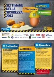 Scarica la brochure dell'evento - Prevenzione Cantieri