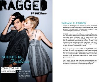 download the new issue of RAGGED
