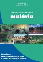 Ações de controle de endemias: malária - BVS Ministério da Saúde