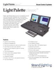 LightPalette Classic Console with 1500 - Grand Stage Company