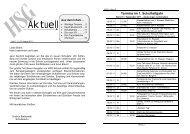 Heft 1 für das Schuljahr 2011 / 2012 - HSG