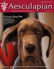 Fall 2012/Winter 2013 Aesculapian Magazine - University of ...