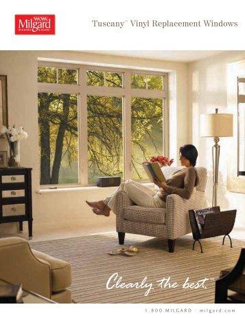 Tuscany™ Vinyl Replacement Windows - Home Doors & Windows