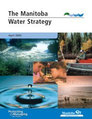 The Manitoba Water Strategy - Pages 1 to 3 - Government of Manitoba