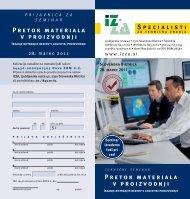 Prijavnica na seminar (PDF) - Strojnistvo.com