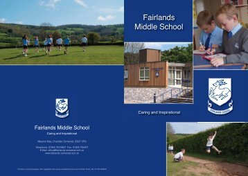 Prospectus - Somerset Learning Platform