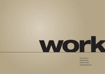 broschüren akzidenzen zeitschriften logogestaltung - Alexander ...