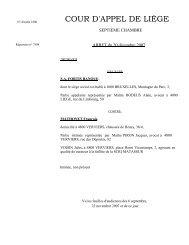 S.A. FORTIS BANQUE c/ MATHONET François - Juridat