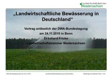 öffnen... - Koordinierungsstelle für Bewaesserung in Deutschland