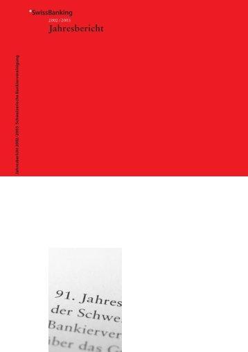 Jahresbericht - Association suisse des banquiers