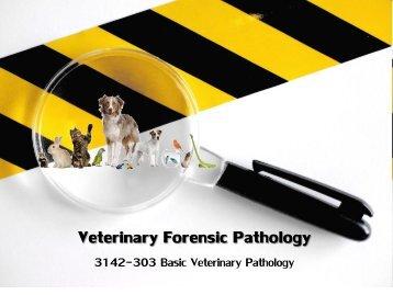 Forensic Veterinary Pathology