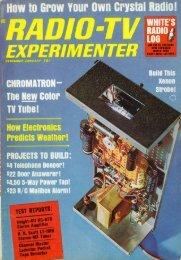 December 1964 / January 1965 Radio-TV Experimenter