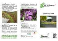 Flyer - BUND Kreisgruppe Region Hannover