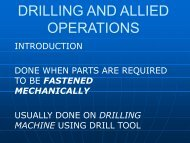 DRILLING AND ALLIED OPERATIONS