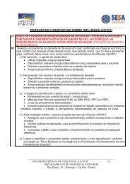 PERGUNTAS E RESPOSTAS SOBRE INFLUENZA A(H1N1)