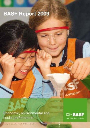 BASF Report 2009 - BASF Report 2012