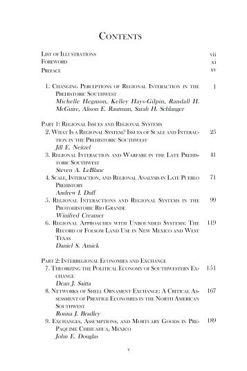 TOC and sample chapter - University Press of Colorado