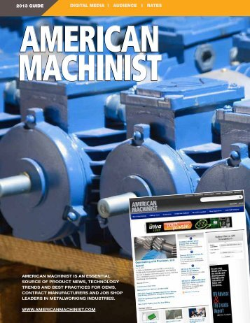Download American Machinist Media Kit - Penton Manufacturing ...