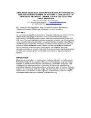 simulacion secuencial estocastica multipunto aplicada al ... - Larriestra