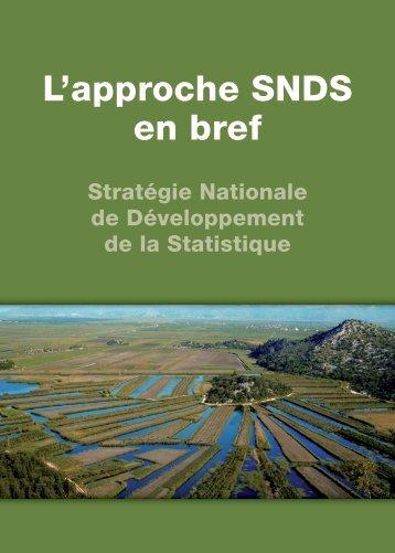L'approche SNDS en bref - Paris21