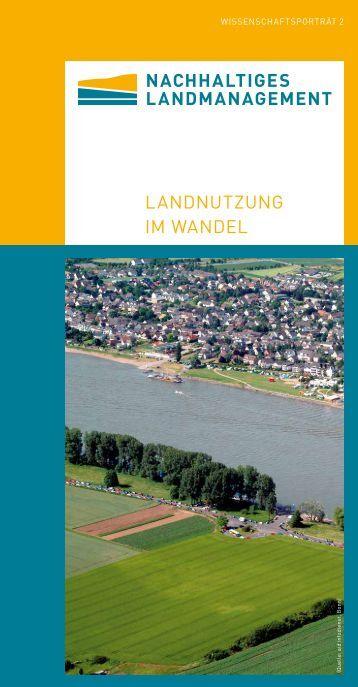 Wissenschaftsporträt - Nachhaltiges Landmanagement