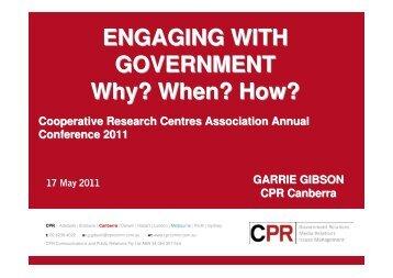 presentation - CRC Association