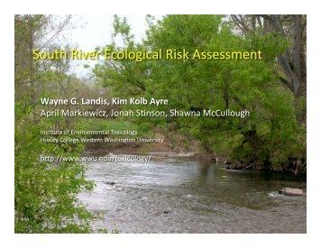 South River Ecological Risk Assessment - Western Washington ...
