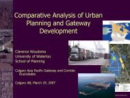 Land Use, Planning and the Environment - Canada's Asia-Pacific ...