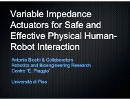 Variable Impedance Variable Impedance Actuators for ... - phriends