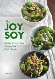 Joy of Soy - SoyConnection.com