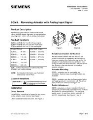 SQM5… Reversing Actuator with Analog Input Signal - Power ...