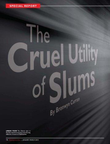 The Cruel Utility of Slums - Development Asia Issue No. 6 Special ...