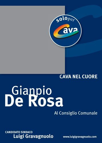 La lista dei candidati - Ilportico.it