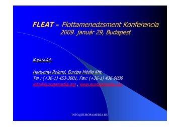 Pályázati források - Fleat-eu.org