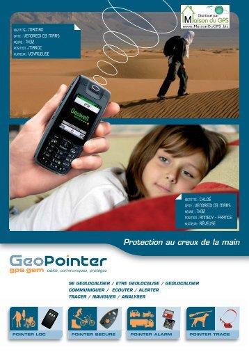 les pointers - Maison du GPS