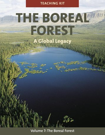 Volume 7: The Boreal Forest TEACHING KIT - Hinterland Who's Who