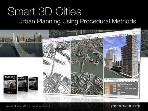 Smart 3D Cities - Esriuserforum ch