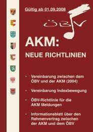 neue richtlinien - Gmunden - Oberösterreichischer Blasmusikverband