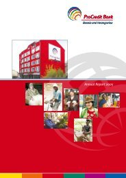 Annual Report 2005 - ProCredit