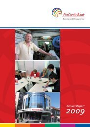 Annual Report 2009 - ProCredit