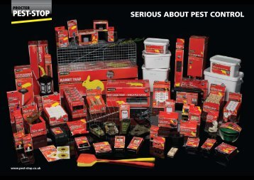 SERIOUS ABOUT PEST CONTROL