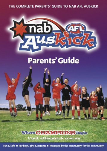 Auskick Parents Guide - sanfl