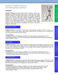 Schott Pyran Platinum Flyer - syracuse glass company