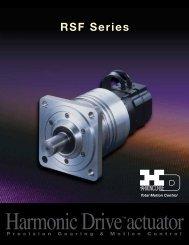 RSF Series - Harmonic Drive LLC