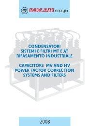 condensatori sistemi e filtri mt e at rifasamento ... - givaenergy.it