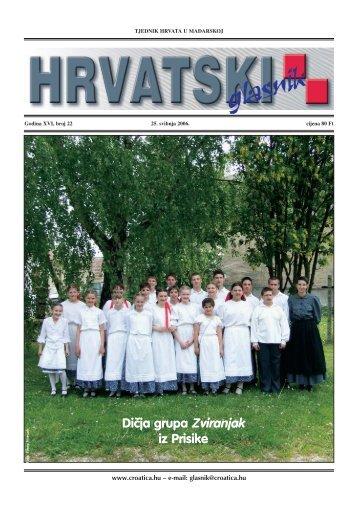 21. broj 25. svibnja - Croatica Kht.